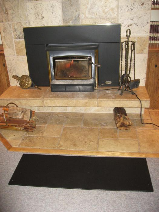 Stove floor protector that looks great standard wood burning fireplaces hudson valley ny fireplace floor protector ideas protection image of diy 1