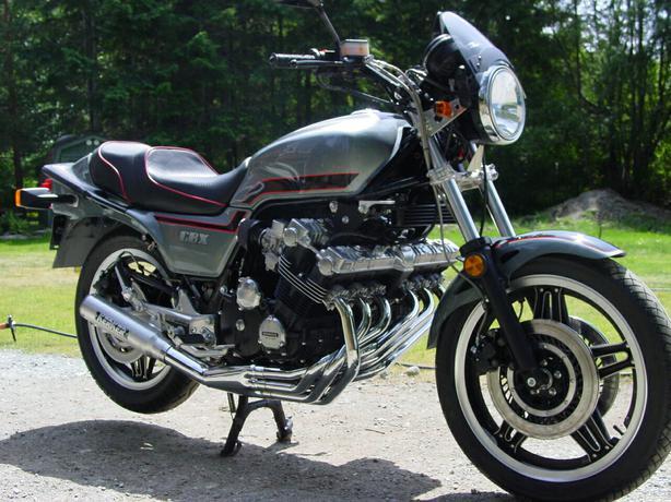 1981 Honda CBX with