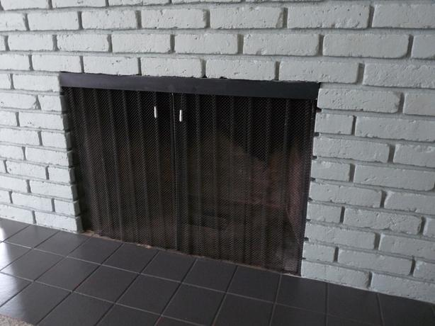 spark guard curtain (fireplace) North Saanich & Sidney , Victoria