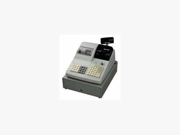 CASH REGISTER-USED SHARP ER-440, 2 TAPE, WORKHORSE, PROGRAMMED