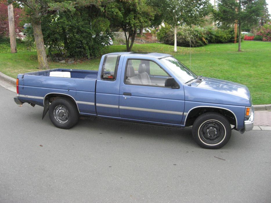 1991 Nissan King Cab Pickup Truck 2 Wheel Drive Saanich