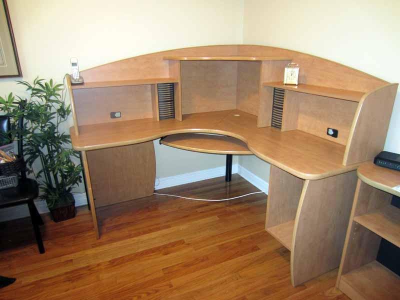 computer desk and shelf for sale gloucester ottawa. Black Bedroom Furniture Sets. Home Design Ideas