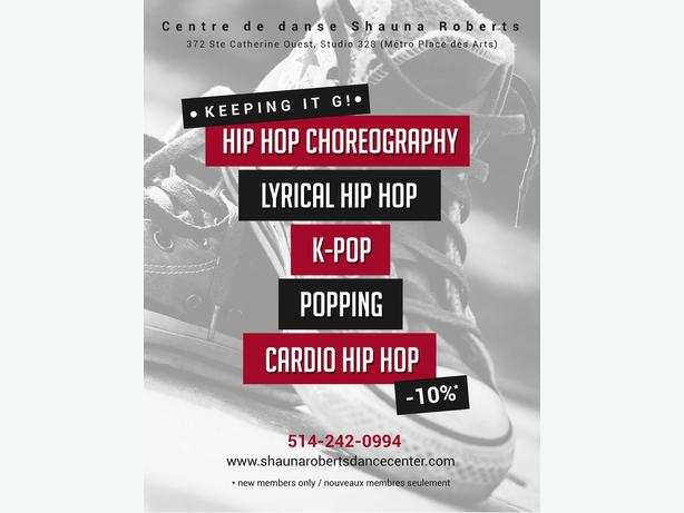 how to start dance hip hop montreal