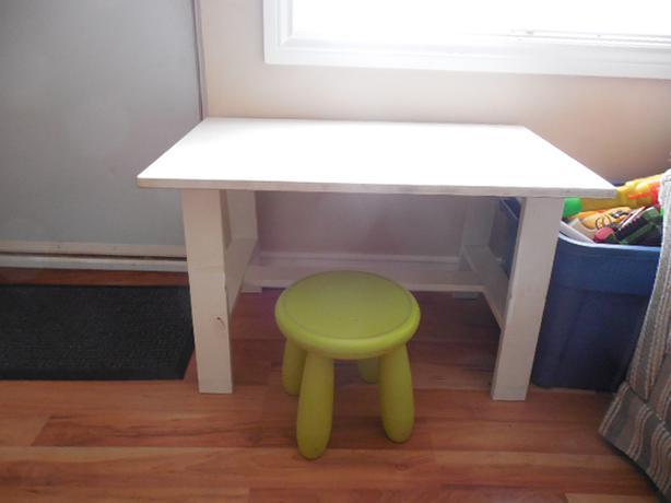 Ikea Kids Table And Stool Saanich Victoria