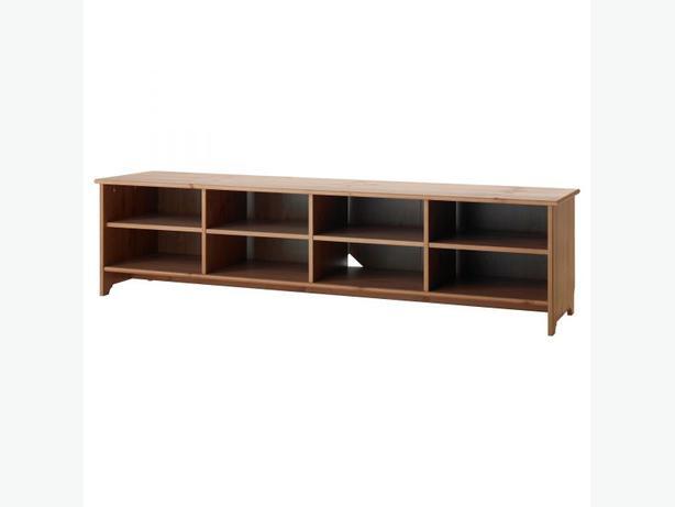 Solid pine TV or storage bench (IKEA - LEKSVIK) Victoria ...