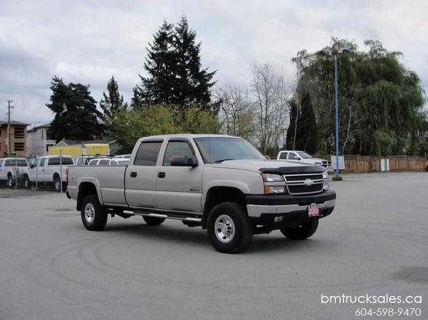 2005 Chevrolet Silverado 3500 Lt Crew Cab Long Box 4x4 Diesel Surrey  Incl  White Rock   Vancouver