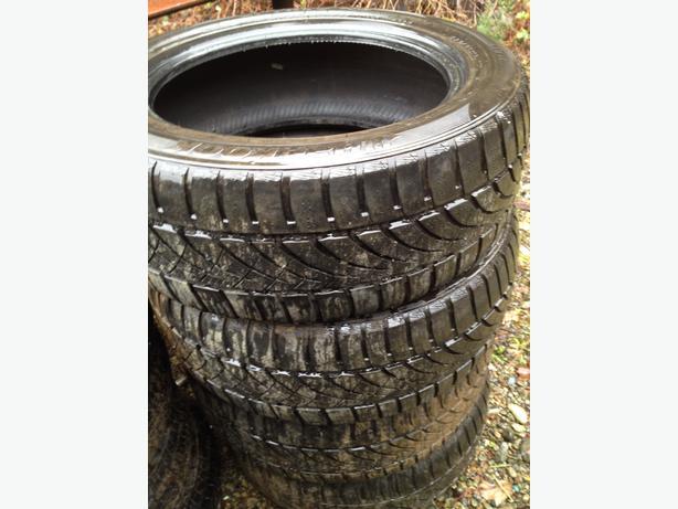 set of winter tires hankook optimo 4s 205 55r16 courtenay campbell river. Black Bedroom Furniture Sets. Home Design Ideas