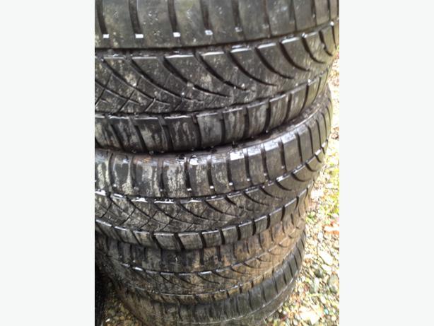 set of winter tires hankook optimo 4s 205 55r16 courtenay comox valley mobile. Black Bedroom Furniture Sets. Home Design Ideas