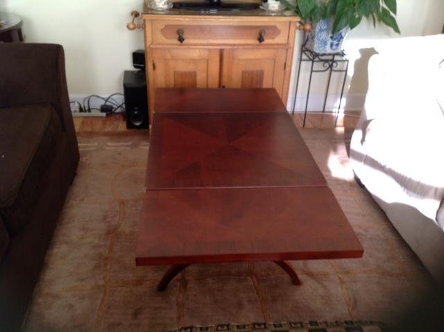 Beautiful fold out coffee table victoria city victoria for Fold out coffee table