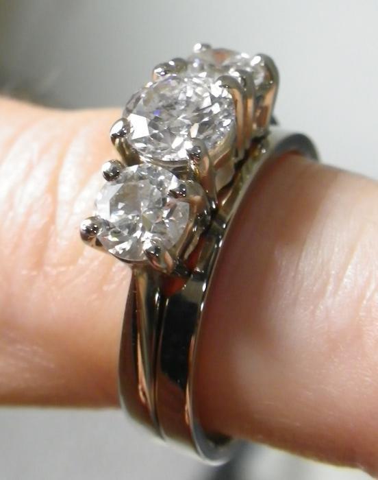 Engagement Ring, Wedding Band Set Outside Victoria, Victoria. Cowboy Jewelry Engagement Rings. Loki Wedding Rings. Vrai Engagement Rings. Geologist Wedding Rings. Dinner Wedding Rings. Skeleton Engagement Rings. Laker Rings. Five Finger Rings