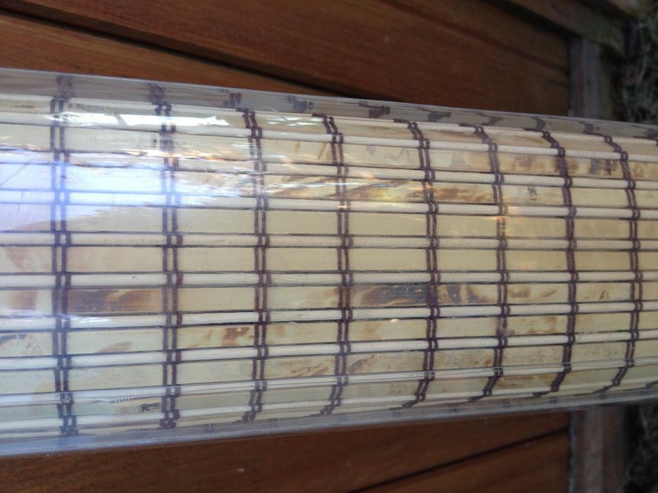 Natural Bamboo Roman Blind Central Nanaimo Parksville