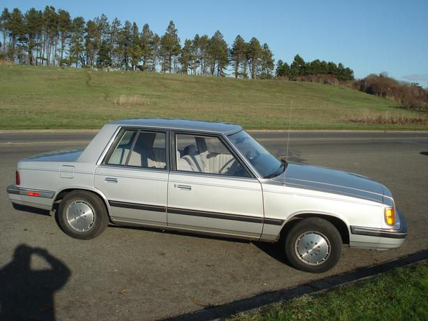 1985 Dodge Aries Se K Car Victoria City Victoria