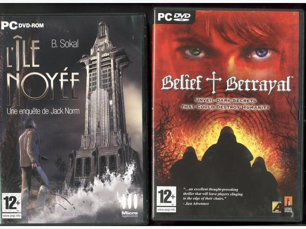4 PC DVD-ROM Games Belief & Betrayal