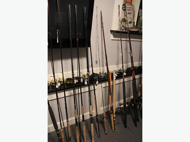 new and used fishing rods for sale central saanich victoria