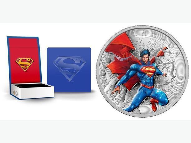 2014 Iconic Superman 1 oz Fine Silvier Coin