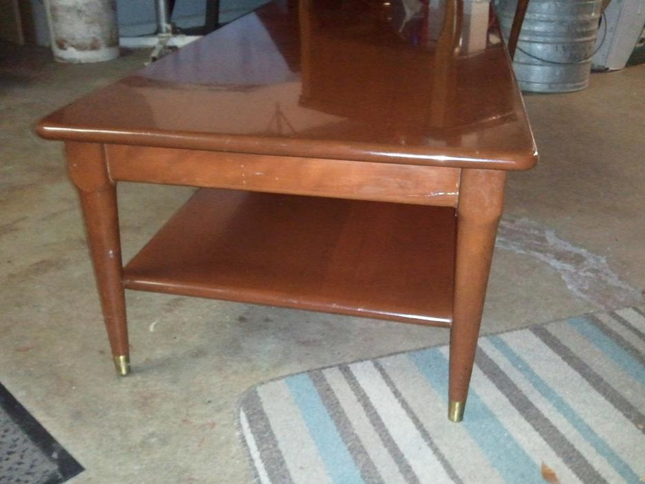 Solid mahogany 1960 39 s coffee table saanich victoria mobile for Coffee tables london ontario