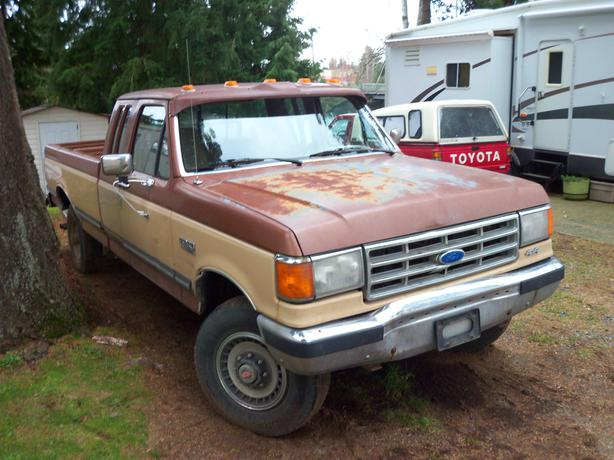 1988 ford f250 4x4 w 5th wh hitch campbell river. Black Bedroom Furniture Sets. Home Design Ideas