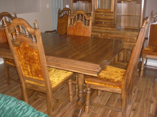 Oak dining room suites