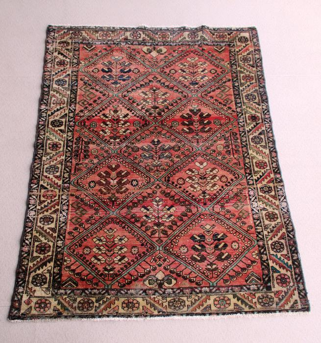 Persian Rug Hand Knotted From 100 Wool 6ft 9in X 5ft