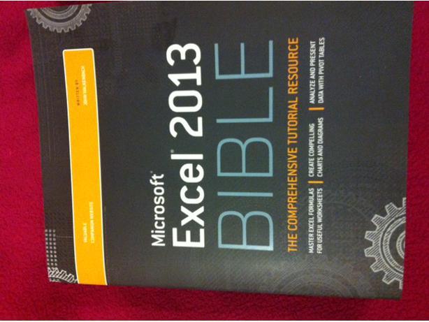 microsoft excel 2013 bible pdf