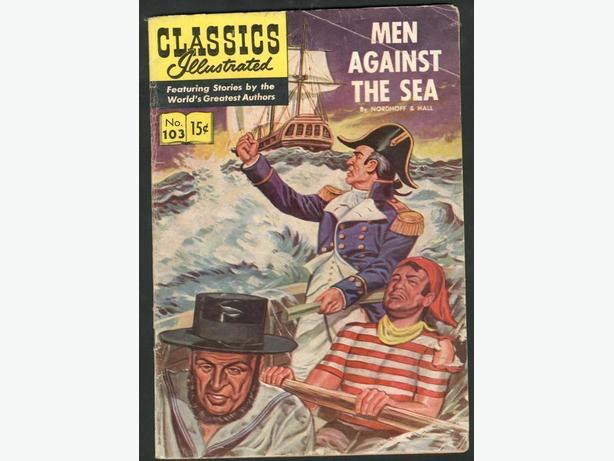Classics Illustrated #103 First Printing  January 1953