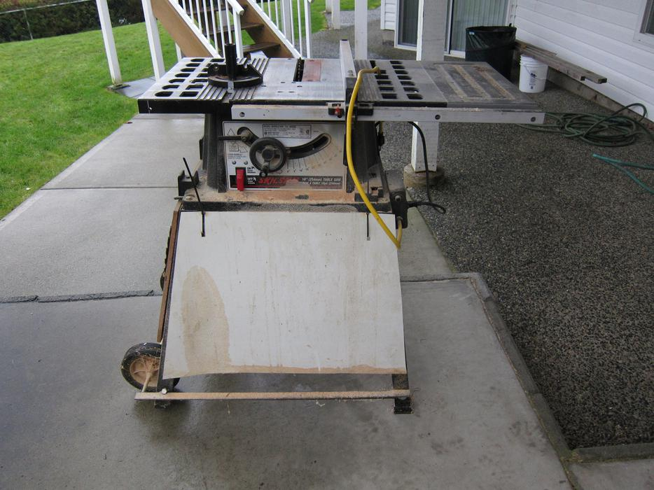 Skil 10 inch table saw north nanaimo parksville qualicum for 10 skil table saw