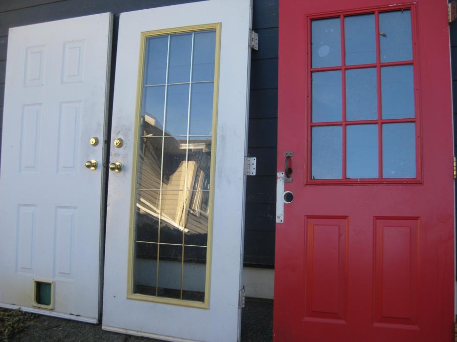 Exterior Steel Door Saanich Victoria Mobile