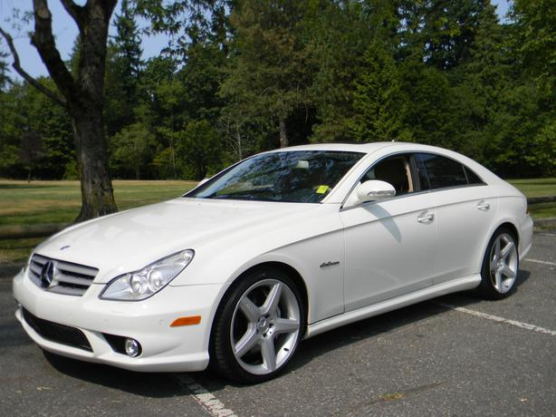 2007 mercedes cls63 amg 500 hp surrey incl white. Black Bedroom Furniture Sets. Home Design Ideas