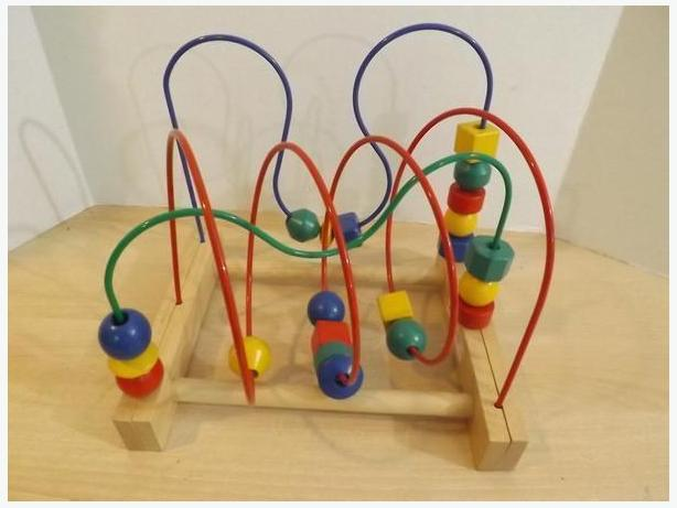Childrens Ikea Wooden Bead Center, Abacus and Pound a Nail $5-6 EACH