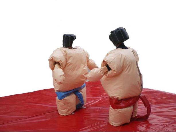 Sumo Suits - Indoor/Outdoor Use! Bouncers Too!