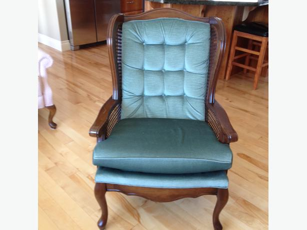Log In needed $50 · Queen Anne Occasional Chair