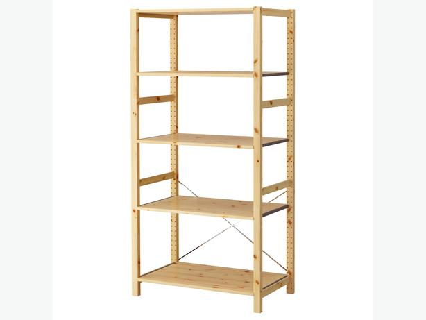 ivar ikea modular pine shelving units central nanaimo