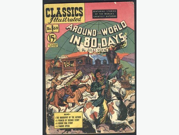 Classics Illustrated #69  September 1950 Jules Verne