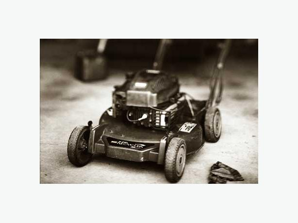 Free lawnmower and anything with a little engine removal for Anything with a motor