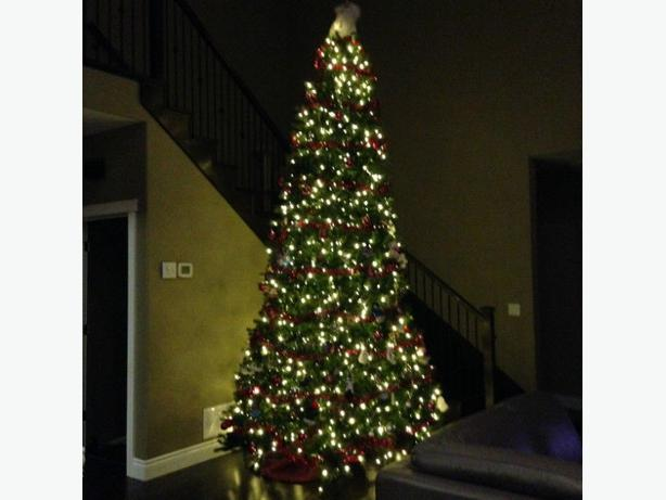 12' foot Pre-Lit Artificial Christmas Tree (Costco ...