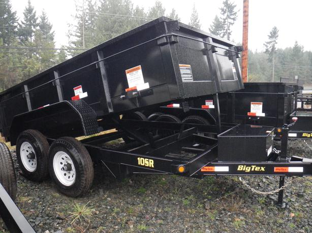 Big Tex 10SR-12 dump trailer, ST#BT940