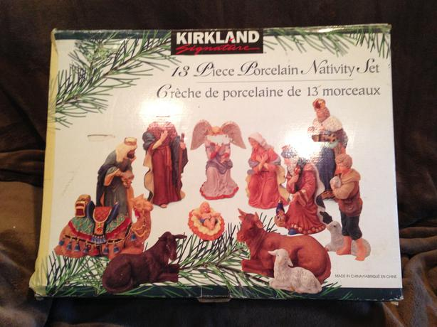 Xmas Nativity set
