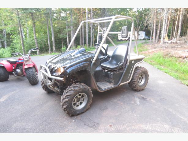 Reduced 2006 yamaha 660 rhino side by side with v for Yamaha rhino side by side
