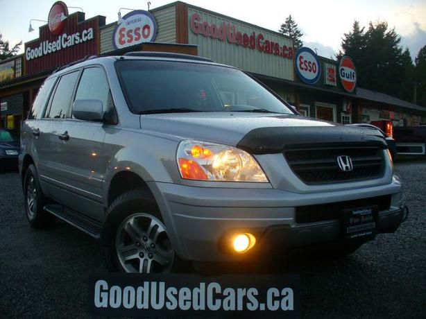 2004 honda pilot leather 8 seater super clean outside nanaimo parksville qualicum beach. Black Bedroom Furniture Sets. Home Design Ideas