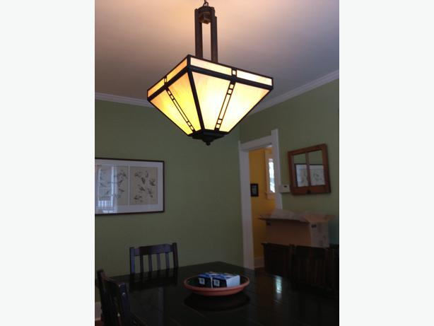 Craftsman Style Ceiling Light Fixture (new) Victoria City ...