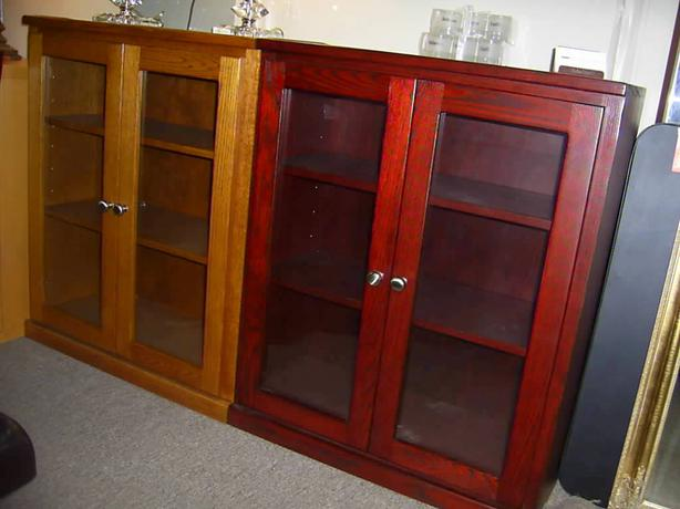 Low Bookcases With Doors: Small Bookcase With Doors North Saanich & Sidney , Victoria
