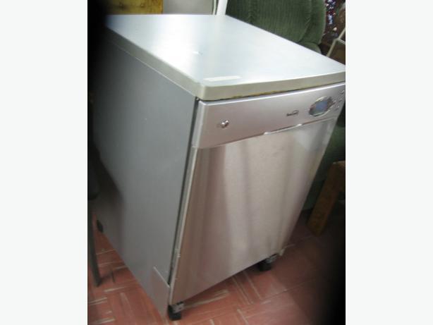 Marvelous Portable Dishwasher Full Size (Beaumark) Stainless