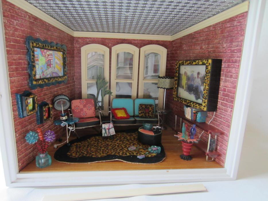 American Girl Mini Rooms Stable