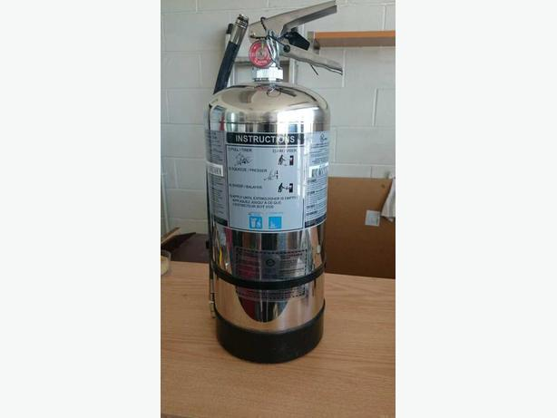 K class, wet chemical, 6 litre, Used, full content, 2016 Oct val