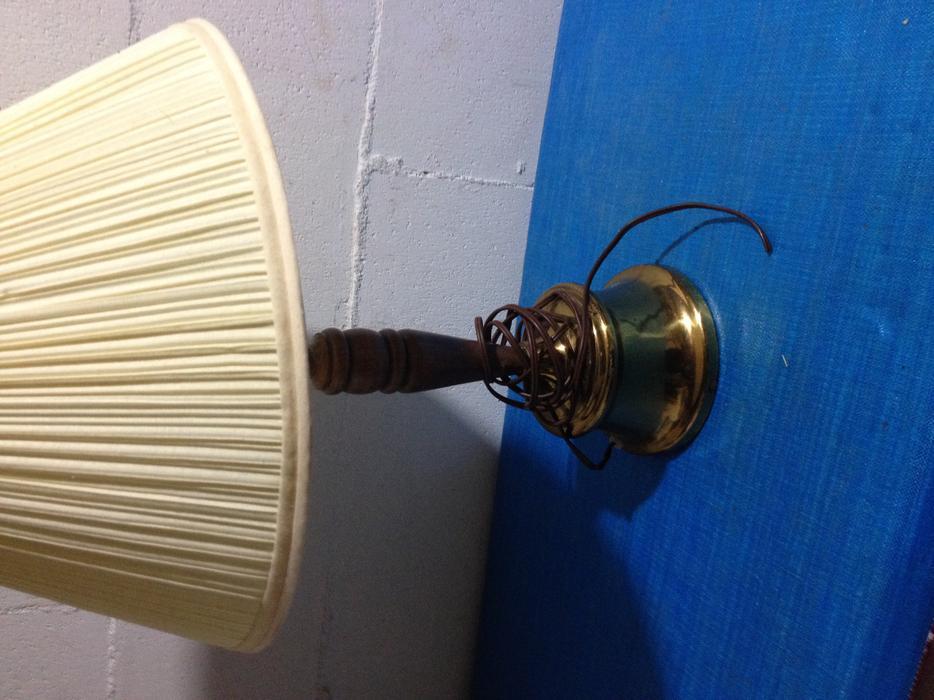 Vintage lamp Central Nanaimo, Nanaimo