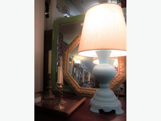 Adorable Baby Blue Table Lamp West Shore LangfordColwood