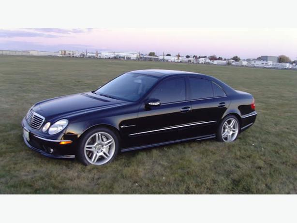 2003 mercedes e55 amg v8 kompressor supercharged low for Mercedes benz v8 kompressor