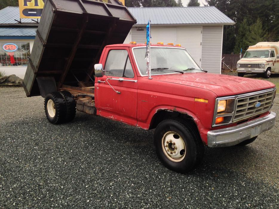 1982 Ford F 250 Dump Truck 2 900 Parksville Nanaimo