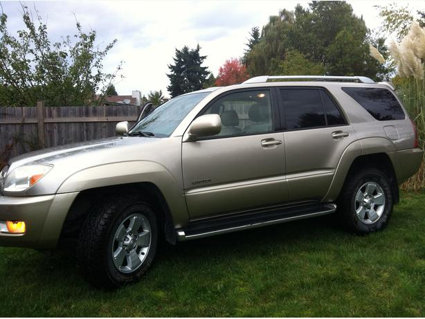 2003 toyota 4 runner limited v8 4wd courtenay comox valley. Black Bedroom Furniture Sets. Home Design Ideas