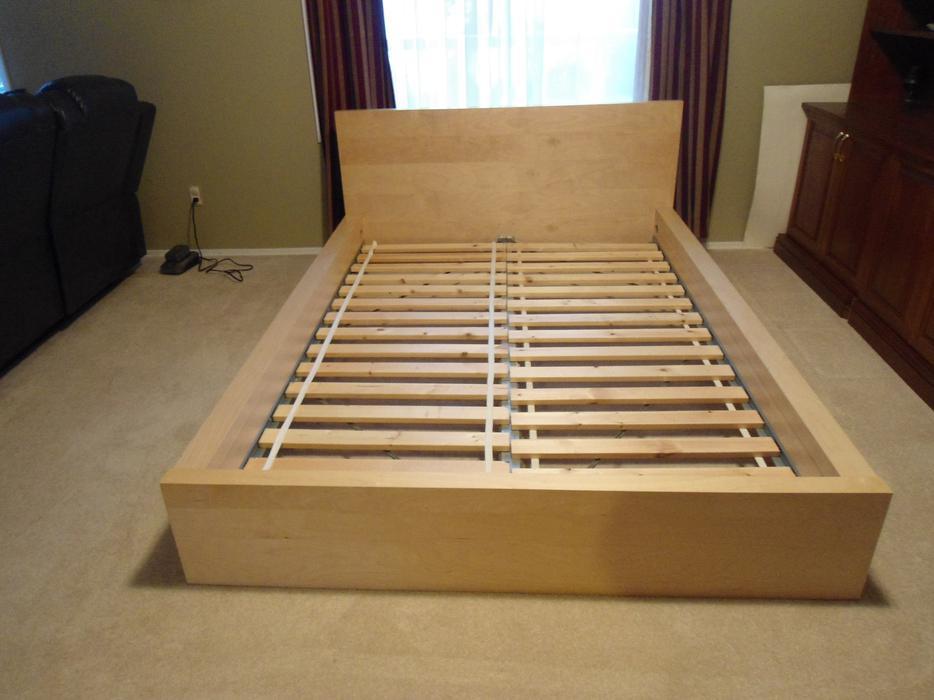 Ikea Full Malm Bed Frame And Matress Cedar Nanaimo